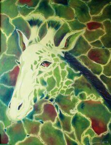 Pintura jirafa